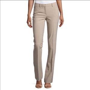 NWT theory khaki dress pants 12